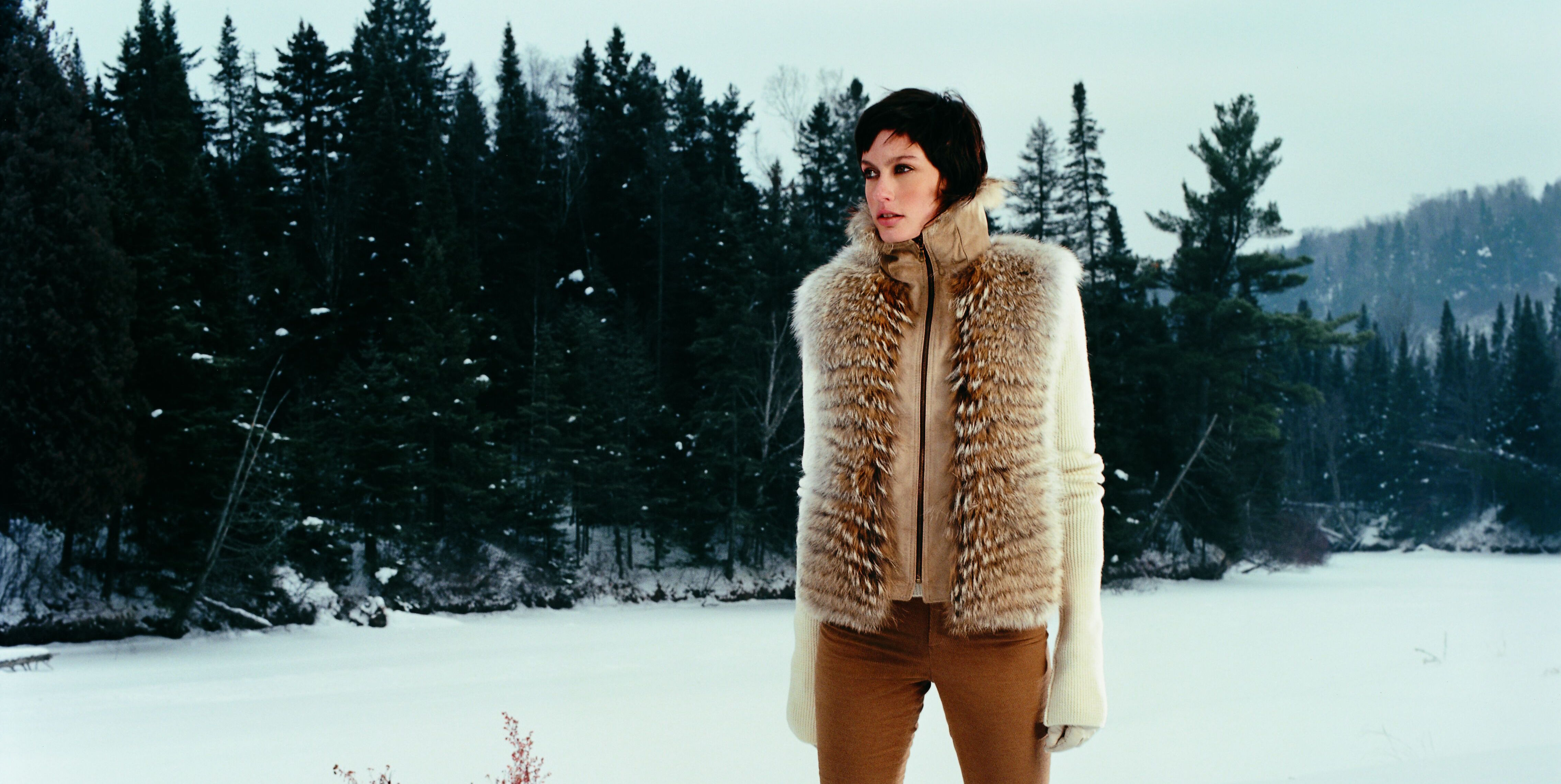 Fur coat made in Canada by Tzanidis